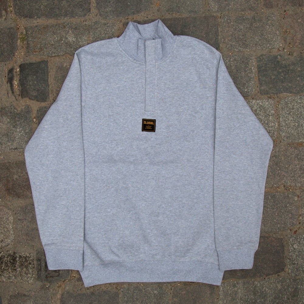 Image of SLOCAL 1/4 ZIP - Grey