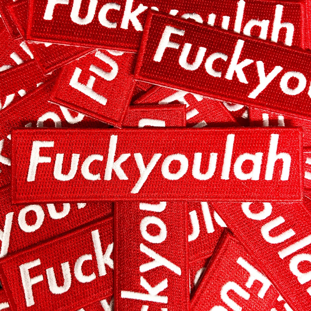Image of Fuckyoulah patch