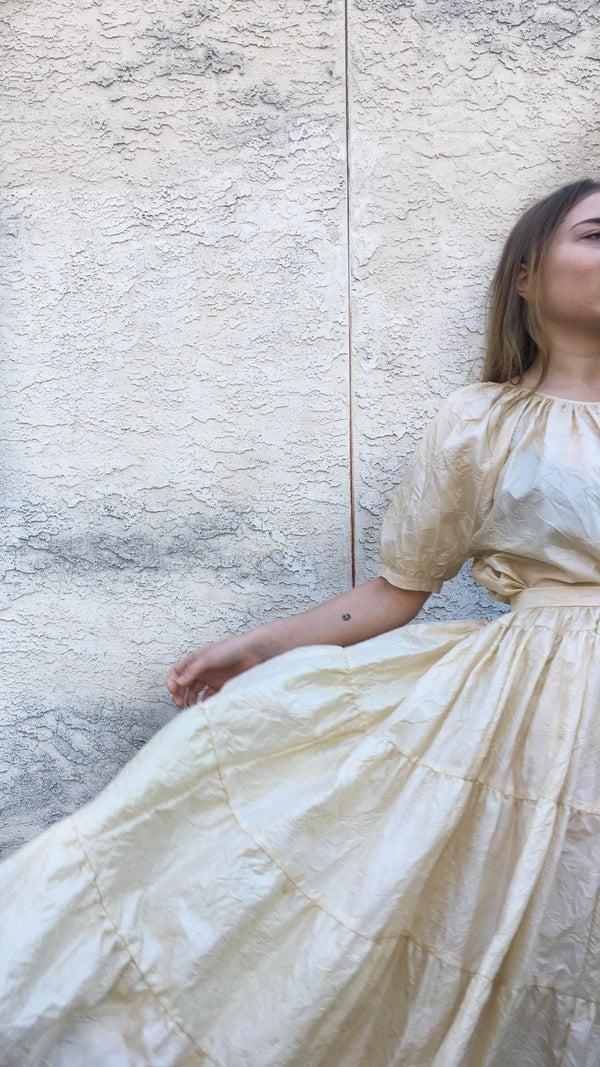 Image of Caron Callahan Halo Skirt