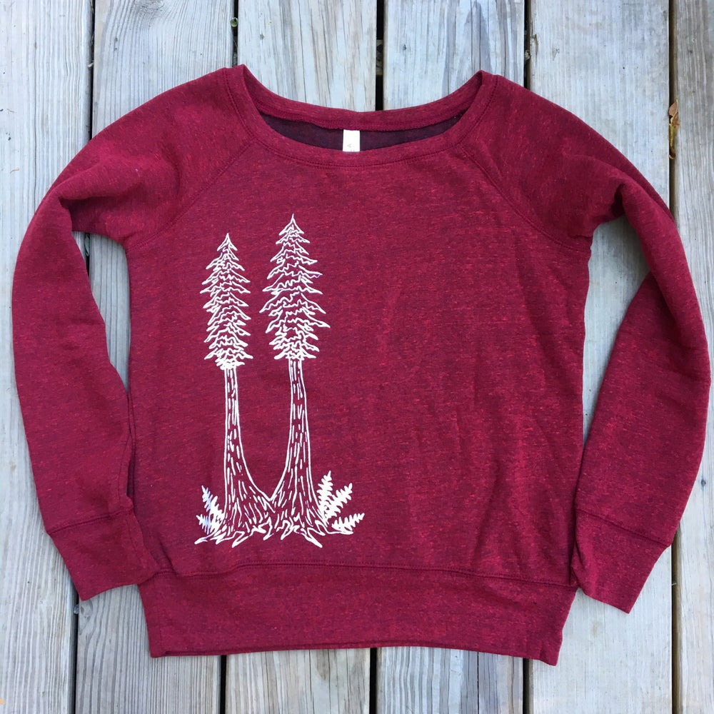 Image of Redwood twins women's sweatshirt