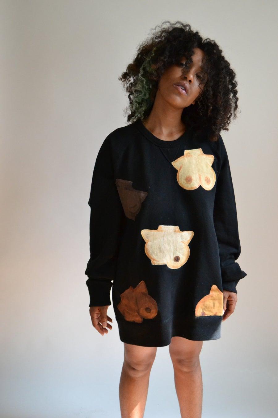 Image of Boobies Gang Crewneck Sweater (unisex)