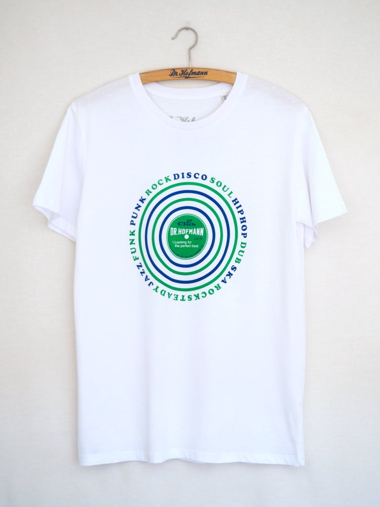 """Image of """"LOOKING FOR THE PERFECT BEAT Tee"""" - White - Organic Cotton"""