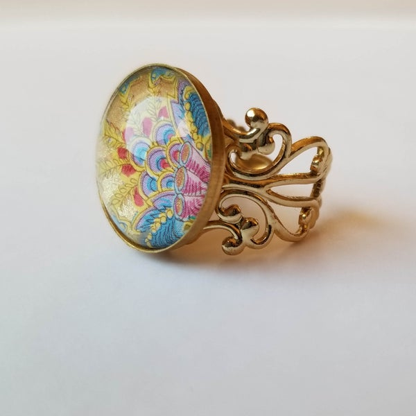 Image of Ciao Italy - Paisley Passion Ring
