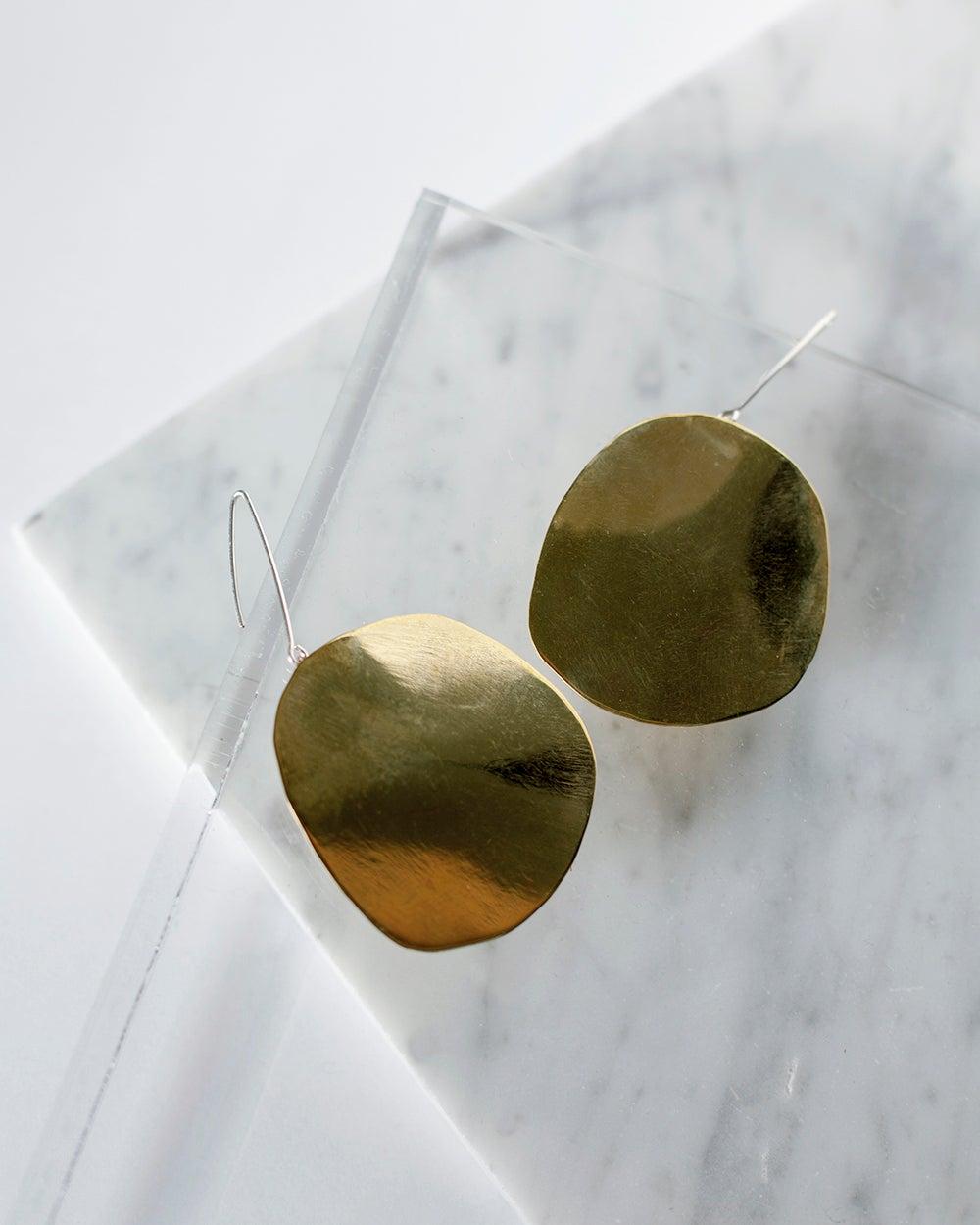 Image of Shield Earrings