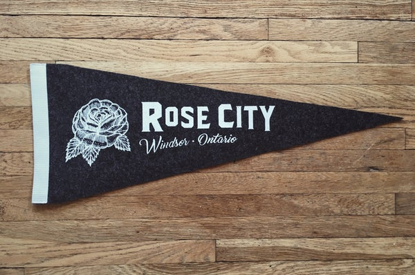 Image of Rose City Pennant