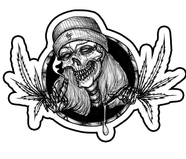 Image of RAWOG420 MINI STICKER