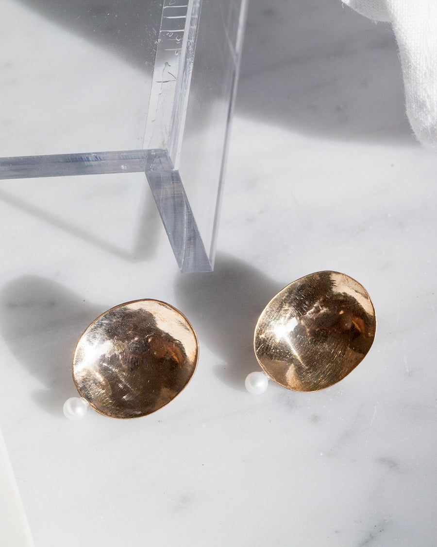 Image of Dome Earrings