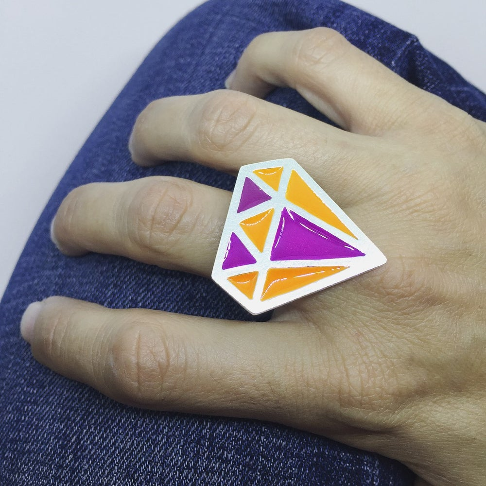 Image of Gemstone Color Ring