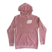Image of ROSE Pigment Dyed Hoodie