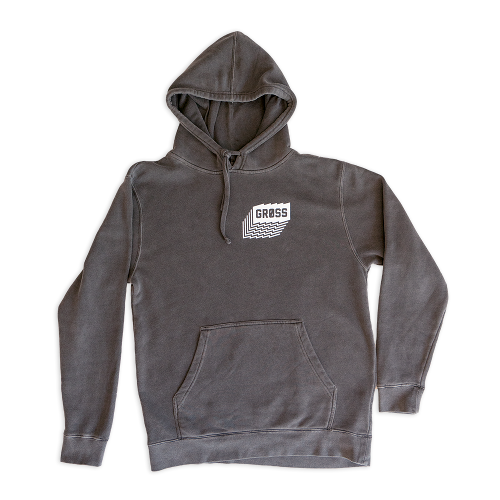 Image of COAL Pigment Dyed Hoodie