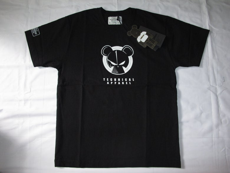Image of Neighborhood x Medicom - MDCM EX/C-TEE.SS (Black)