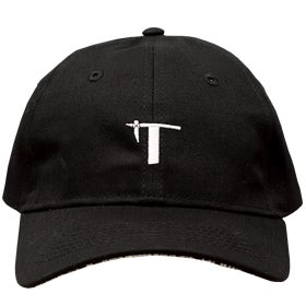 "Image of Tatau Logo ""T"" Black/White Dad Hat"