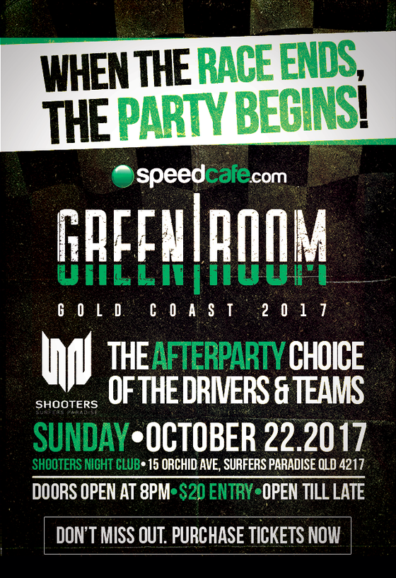 Image of Speedcafe.com Greenroom - Castrol Gold Coast 2017
