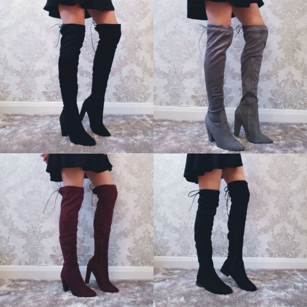 Image of Over knee boots