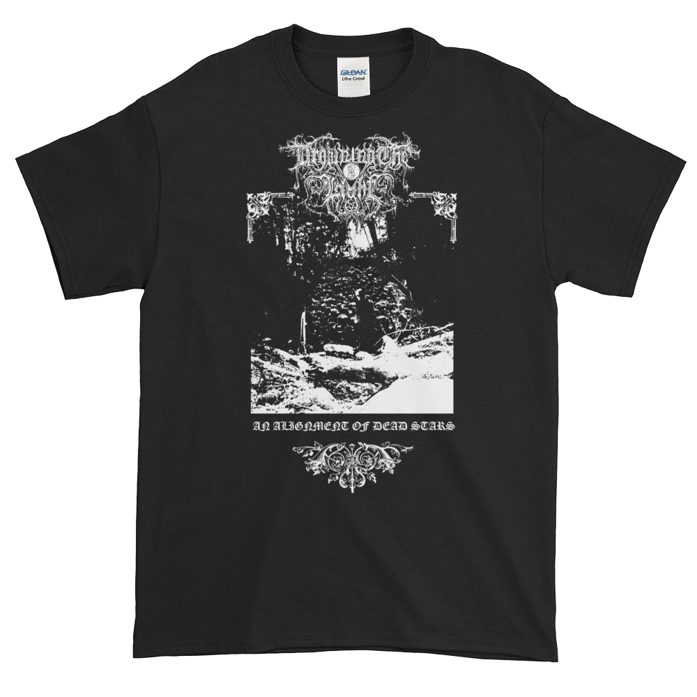 """Image of Drowning the Light - """"An Alignment of Dead Stars"""" shirt"""