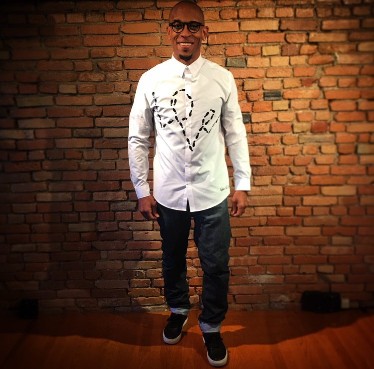 "Image of LONG SLEEVE ""Walk In Love"" Button Up (3 Different Colorway Options)"