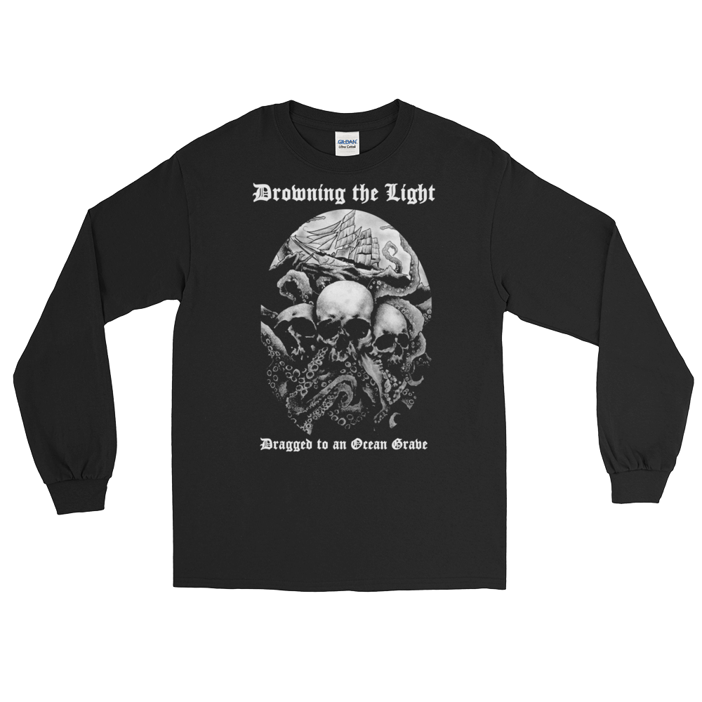 """Image of Drowning the Light - """"Dragged to an Ocean Grave"""" long sleeve shirt"""
