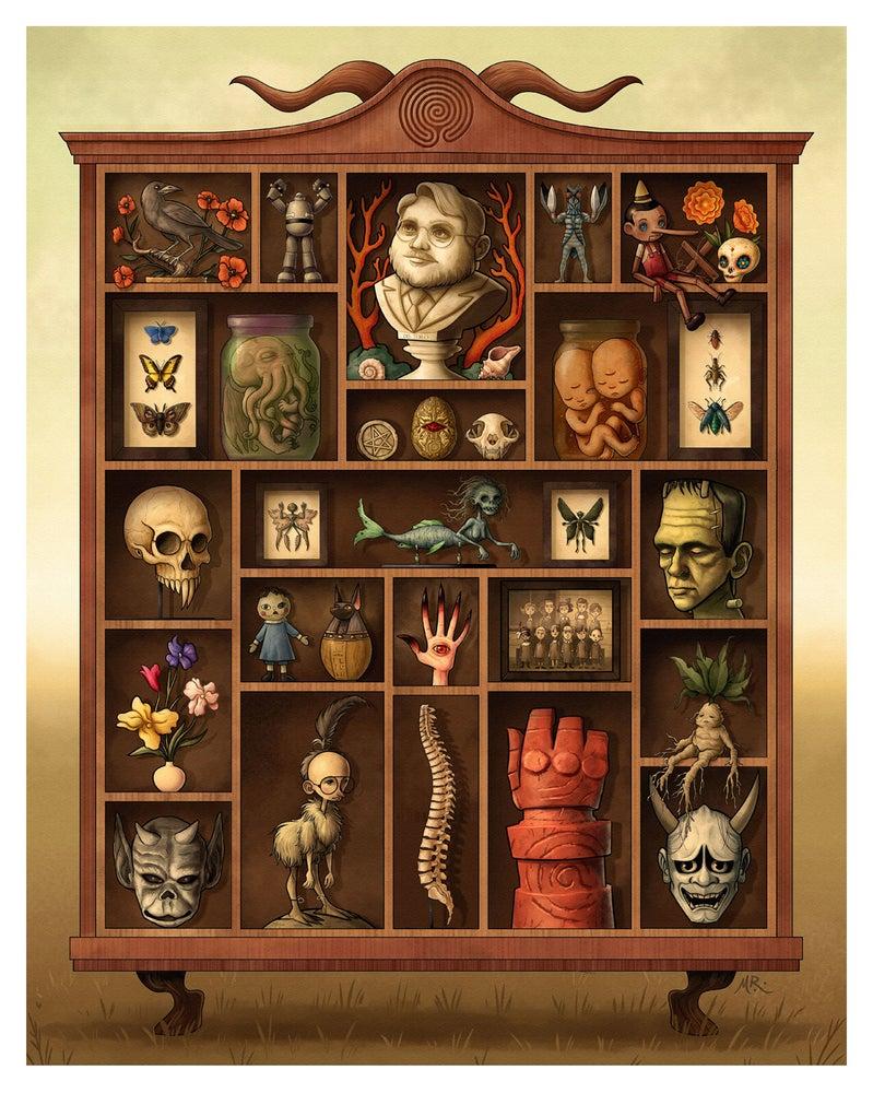 "Image of Michael Ramstead ""Guillermo Del Toro"" 2017 Giclée print"