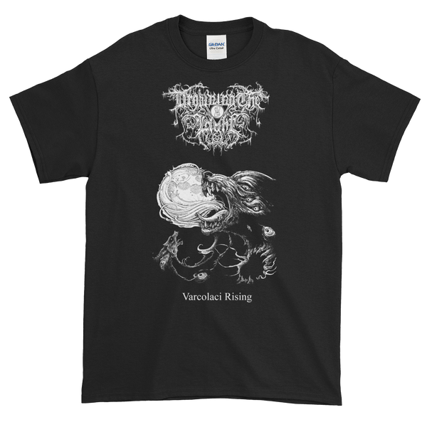 "Image of Drowning the Light - ""Varcolaci Rising"" shirt"