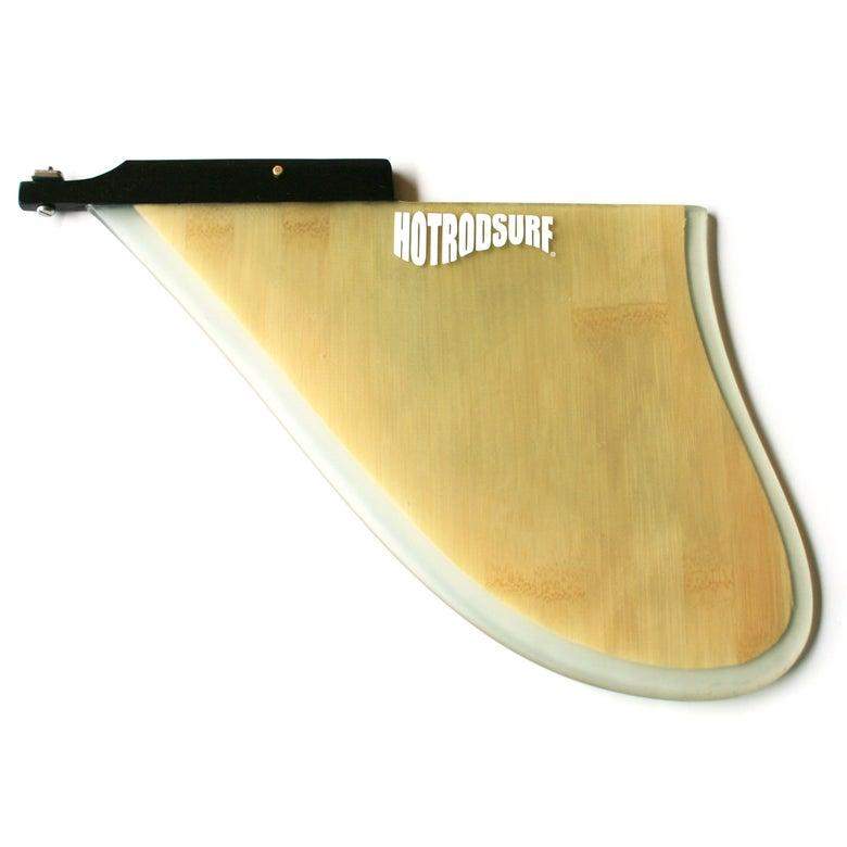 Image of HOT ROD SURF ® ~ HOTRODSURF ~ D100 Dragster Surfboard 'D' Fin