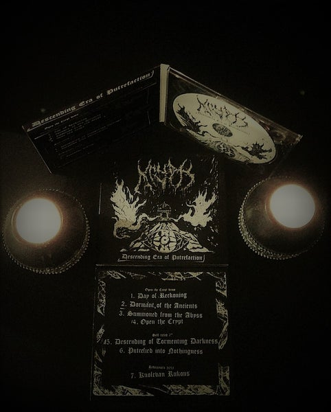 Image of Descending Era of Putrefaction CD