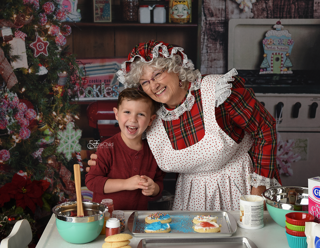 Image of Bake Day With Mrs. Claus!   Mini Session - Sunday December 3rd 2017