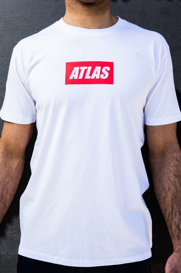Vacancy Logo Tee $34.95 AUD - ATLAS FIGHTWEAR