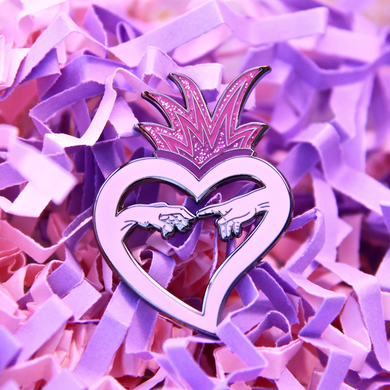 Image of Sacred Heart - Pink