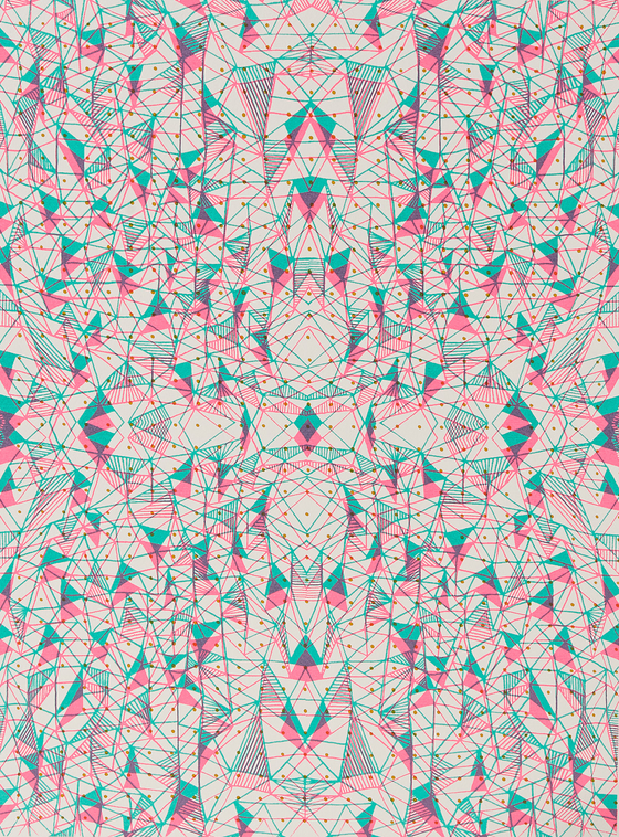Image of Double Crossing, Pink