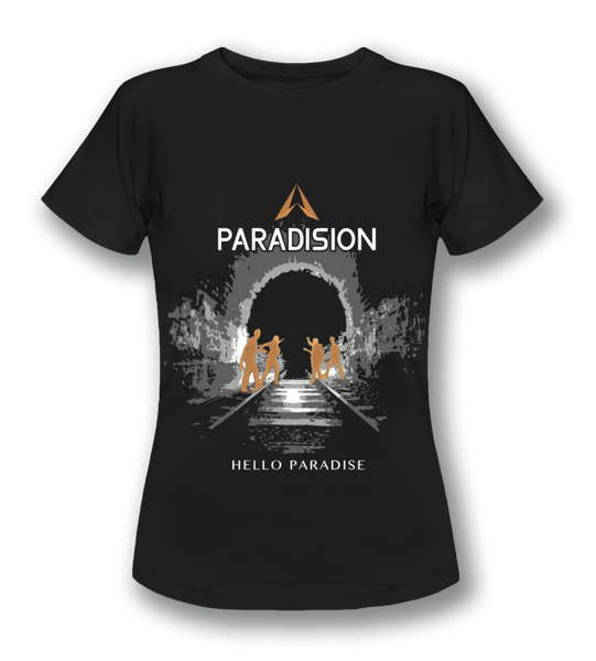 "Image of Fanshirt ""Hello Paradise"" (weiblich)"