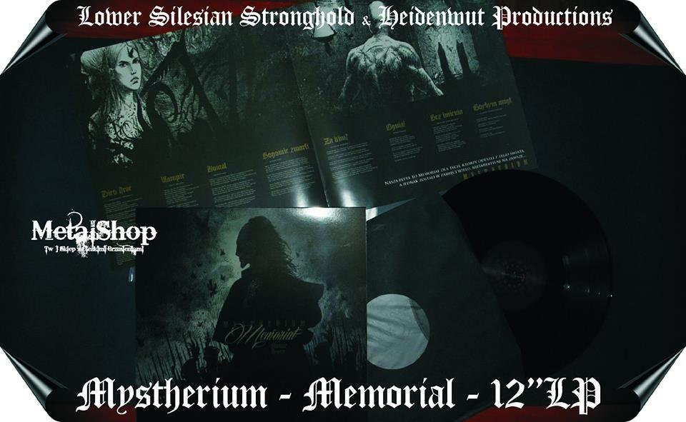 Image of Mystherium - Memoriał (Nowy Świt) LP
