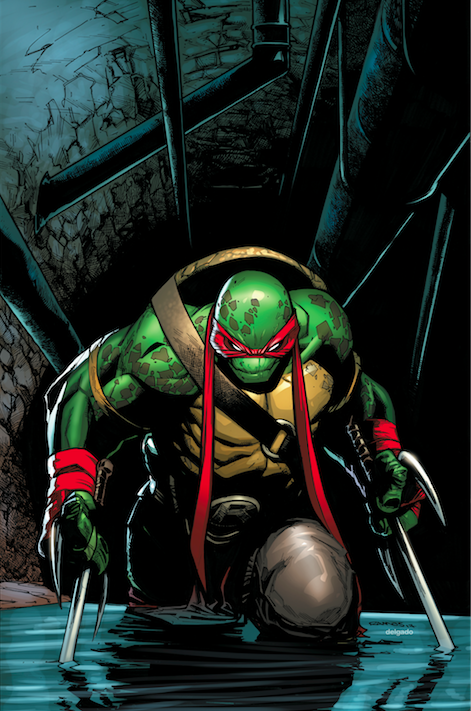 Image of Teenage Mutant Ninja Turtles #75 Humberto Ramos Exclusive Color Virgin Variant
