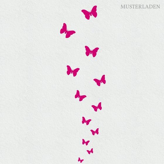 Image of Schmetterlinge Wandtattoo Berta