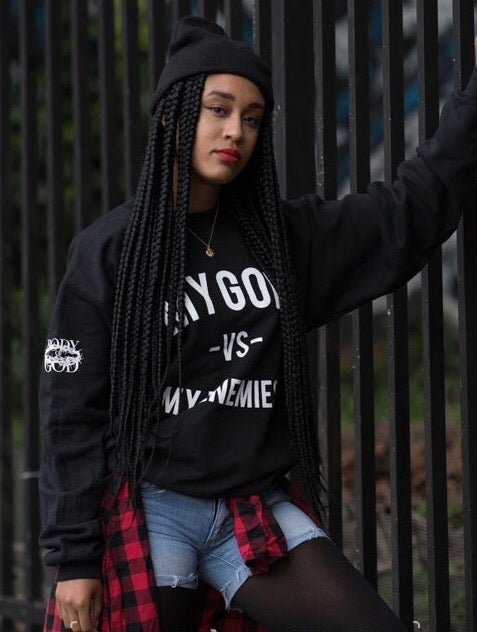 Image of MGVME sweatshirt, Black Night