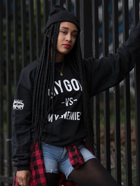 Image of MGVME sweatshirt, Black Night