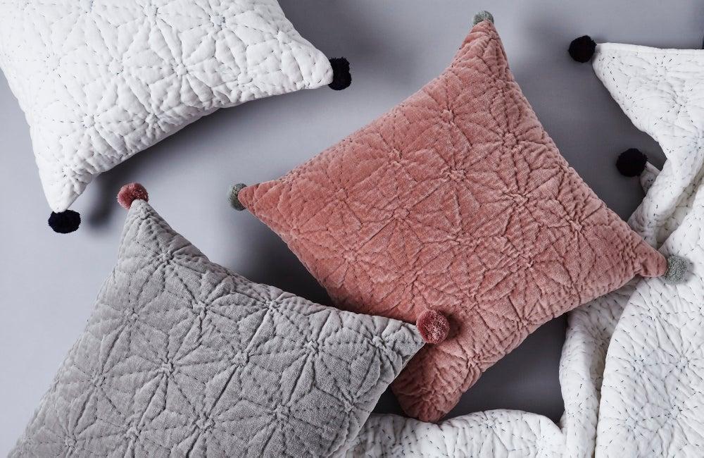Image of T ä h t i cushion, vanilla