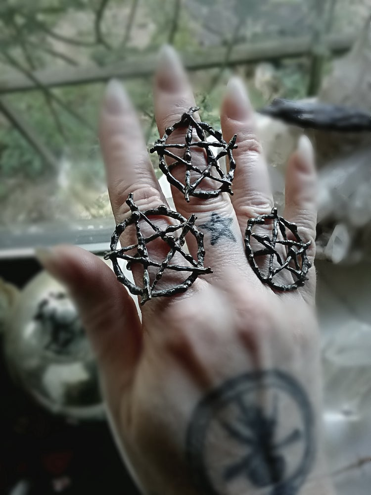 Image of The Witching Tree Pentacle Ring