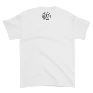 Image of Filled With LOVE Unisex V-Neck Tee in Black or White