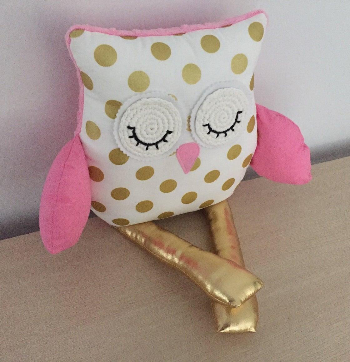 Image of Decor Owl Cushion - Hailee