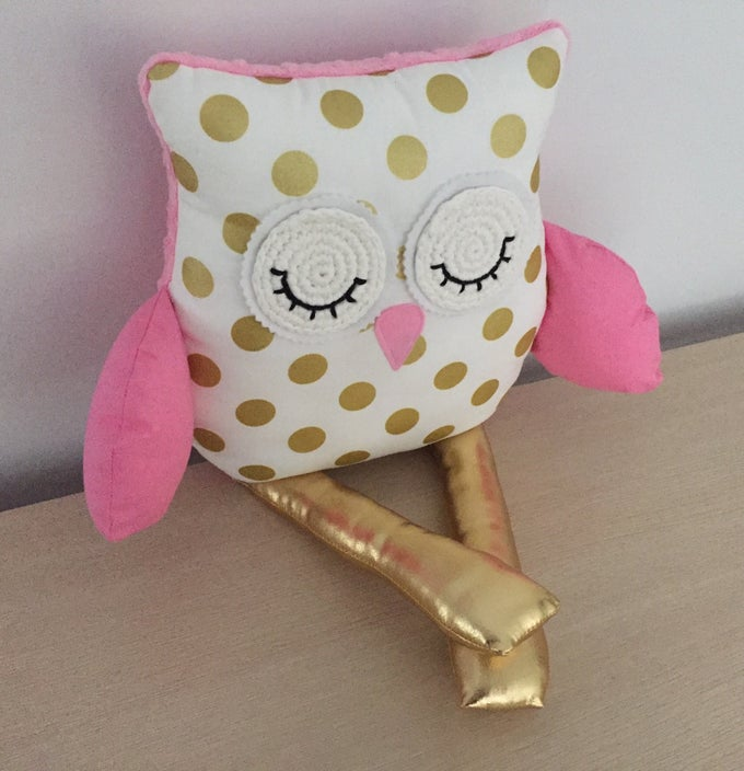 Image of Decor Owl Cushion - Hailee