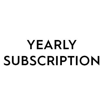 Image of YEARLY SUBSCRIPTION