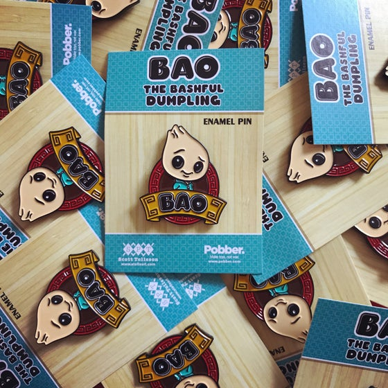 Image of Bao Enamel Pin