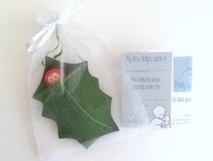 Image of Holly leaf baby