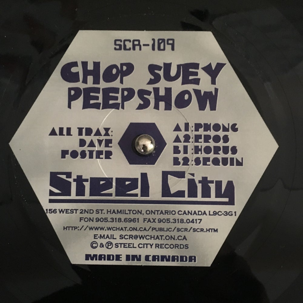 Image of CHOP SUEY PEEP SHOW - EP