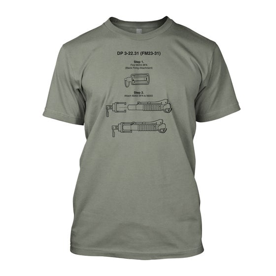 Image of M203 Blank Adapter Shirt