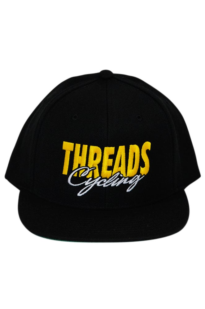 Image of THREADS Cycling Snapback - Yellow