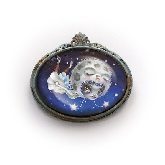 Image of Celestial Float Brooch