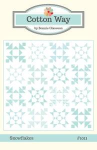 Image of Snowflakes PDF Pattern #1011