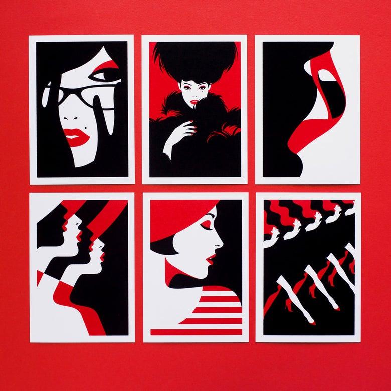 Image of Femmes en rouge