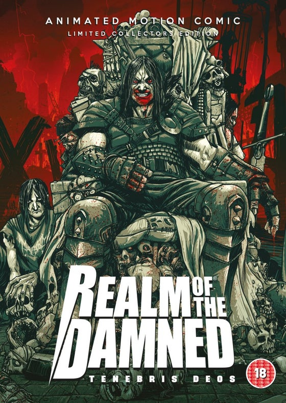 Image of REALM OF THE DAMNED Limited Edition DVD (Signed) + T-Shirt